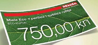 Miele promocija uz ECO kupon, uštedite 750 kuna