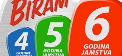 """Whirlpool promocija """"Biram 4-5-6 godina garancije"""""""