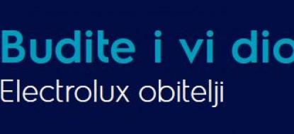Electrolux 5 godina garancije i pomozimo djeci Gunje
