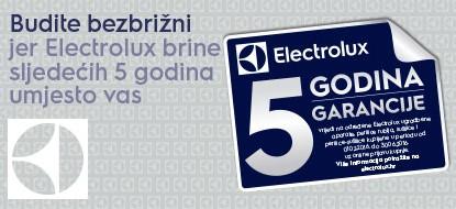Electrolux i AEG 5 godina garancije