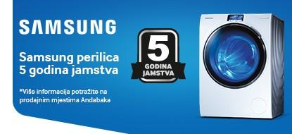 Samsung 5 godina garancije na hladnjake i perilice rublja