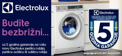 Akcija Electrolux 5 godina garancije