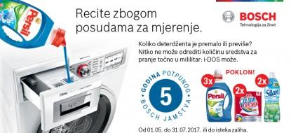 Bosch akcija 5 godina garancije + poklon