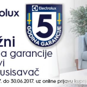 Electrolux akcija 5 godina garancije