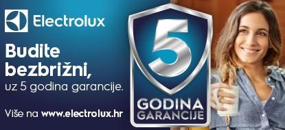 Electrolux, AEG i Zanussi 5 godina garancije