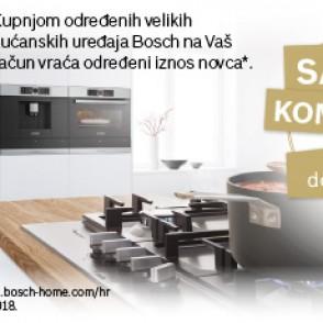 Promocija CASHBACK Bosch veliki aparati 2018.