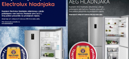 Electrolux COLD promocija