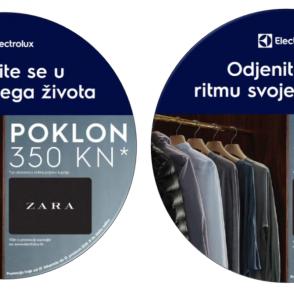 Electrolux daruje Zara poklon bon
