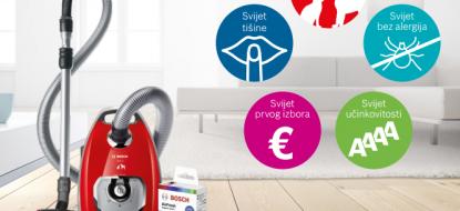 Bosch promocija usisavača – Svijet čistoće