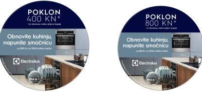 Electrolux promocija, poklon kartica od 800 ili 400 kuna do 30.4.2019.