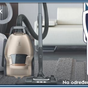 Electrolux d.o.o. promocija 5 godina garancije na određene usisavače